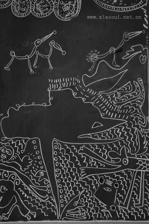 黑板画系列 2010.5