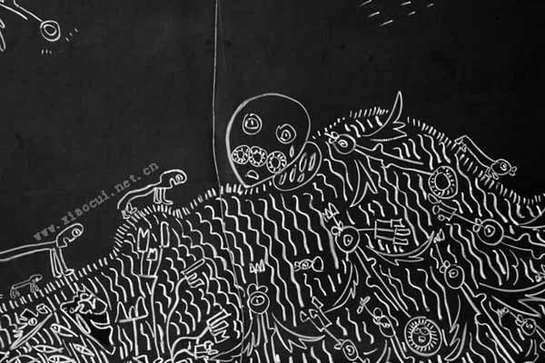 幼儿园开学初黑板报